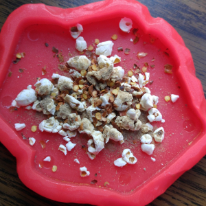 Spicy Chicken Liver Popcorn