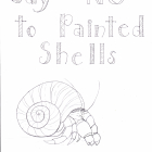 Say NO to Painted Shells Coloring Pages